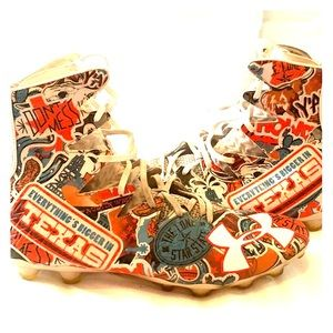 Football cleats | Texas edition | size 12 |
